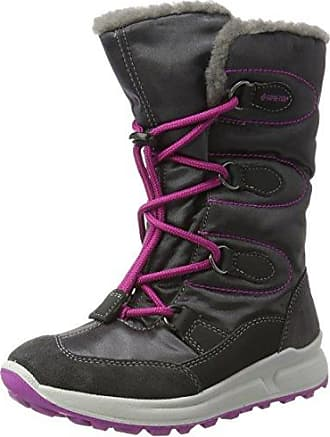 Superfit Merida, Bottes de Neige Fille, Gris (Charcoal Kombi 47), 36 EU