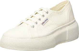 B002WRGIUK 2950 cotu, Baskets mode femme - Blanc (White), 35 EU (2.5 UK)Superga
