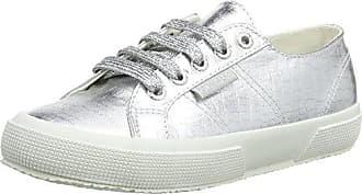 Superga 2750 Cotmetembossedcoccow Sneaker Donna Grigio Grey 031 35.5
