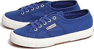 Superga 2750-COTU, Damen, Blau (Intense Blue G88), 35 EU (2.5 UK)