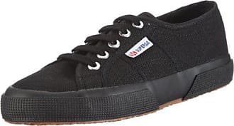 SUPERGA Unisex Adulti 2950 Cotu Scarpe Da Ginnastica Nero Total Black 3.5 UK