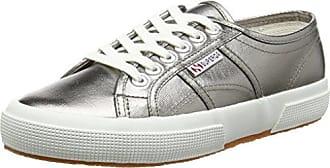 Superga 2750-Sangallosatinw - Zapatillas para Mujer, Color 901 White, Talla 35
