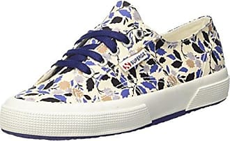 2750-sliponfabricfanplw, Womens Low Trainers Superga