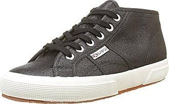Superga S00AXP0, Chaussures Basses Femme - Noir - Noir (Full Black A09), 37 EU EU