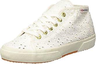 Superga 2754-Sangallosatinw, Baskets Hautes Femme, (White 901), 37 EU