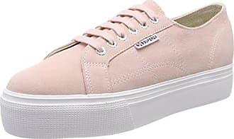 Superga 2790 Suew, Zapatillas Para Mujer, Pink (Pink Skin), 41 EU