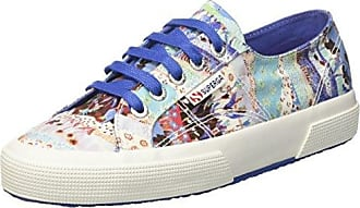 Superga S00BNE0, Basses FemmeMulticoloreMulticolore (Weaving Natural Azul C94), 39 EU