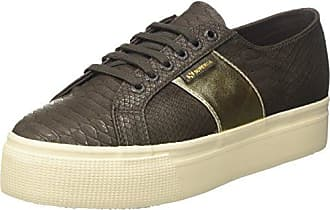 Superga 2750 Pusnakew Sneaker Donna Braun Brown Coffee 35.5 EU Scarpe