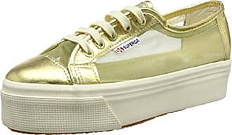 2790 COTMETW Sneakers da Donna, Colore Oro (Rose Gold), Taglia 39 EU (5.5 UK) Superga