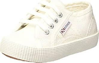 Superga 2750 Cotbump, Baskets Mixte Enfant, Weiß (White), 22 EU