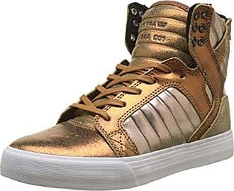 Stacks II, Sneakers Basses Homme, Beige (Tan/Navy-Gum), 42 EUSupra