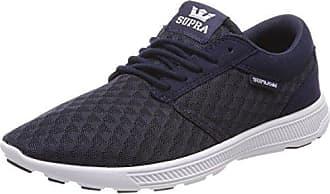 Supra Aluminum, Zapatillas para Hombre, Azul (Navy/Mojave-White), 43 EU
