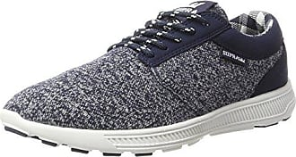 Supra Hammer Run, Sneakers Basses Mixte Adulte - Bleu (Navy/Black - White NVB), 42 EU