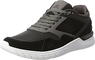 Supra - Zapatillas para hombre multicolor Charcoal/White 40, color multicolor, talla 41
