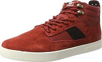 K-SwissBandit - Zapatilla Baja Hombre, Color Rojo, Talla 44