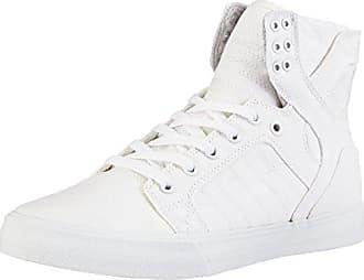 Skytop, Sneakers Hautes Mixte Adulte - Noir (Black/White White), 38.5 EUSupra