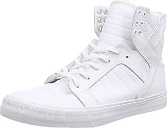 Supra Skytop, Sneakers Basses Homme, Blanc (White/White Red), 42 EU