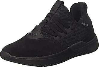 Catori, Sneakers Basses Femme, Noir (Black-White), 38.5 EUSupra