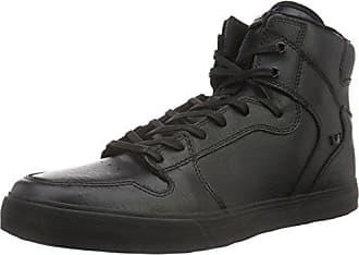 Scissor, Sneakers Basses Homme, Noir (Black/Risk Red-White), 42.5 EUSupra