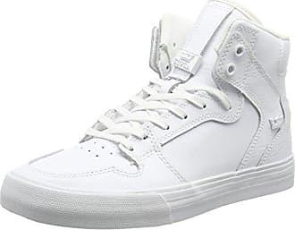 Vaider, Sneakers Hautes Mixte Adulte - Noir (Black/Red - Black RCS), 49.5 EUSupra