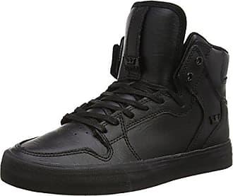 Supra Skytop - Sneaker a Collo Alto Uomo, Nero (Black-Red), 43 EU