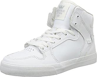 Supra Vaider, Hohe Sneakers Homme - Blanc - Weiß (Off White-White), 39