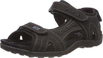 Supremo 2722901 Sandali con Cinturino alla Caviglia Donna Nero Black