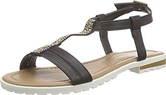 4822901 - Sandalias con Punta Abierta Mujer, Color Negro, Talla 36 Supremo