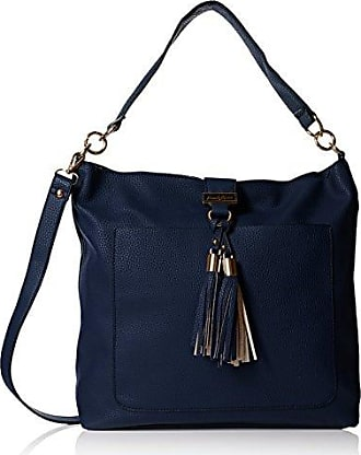 Swankyswans Hudson Snakeskin Trim, Sacs Portés épaule FemmeBleuBlue (Royal Blue)