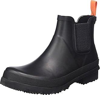 Storm Brogue High, Desert Boots Homme - Noir - Schwarz (Black/Gum)Swims