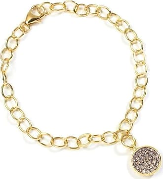 Syna 18kt London Blue Topaz Charm Bracelet