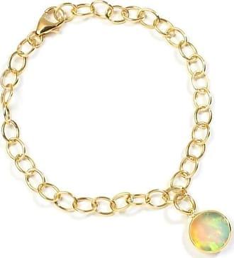 Syna 18kt Ethiopian Opal Charm Bracelet