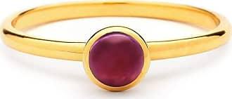 Syna 18kt Mini Peridot Ring - UK N - US 6 1/2 - EU 54