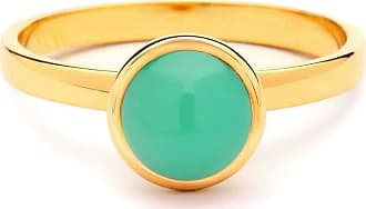 Syna 18kt Mini Tsavorite Ring - UK N - US 6 1/2 - EU 54