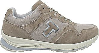 Siviglia, Sneakers Wildleder und Canvas, Damen Blau 7.5 UK - 41 1/2 EU T-Shoes