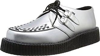 Pleaser Creeper-302 - Zapatillas Mujer, Negro - Black (Blk Vegan Suede), 4 UK 37 EU