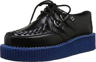 Pleaser Creeper-302 - Zapatillas Mujer, Negro - Black (Blk Vegan Suede), 8 UK 41 EU