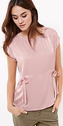 Blusenshirt mit Ärmelvolants Lila-Pink Damen Taifun