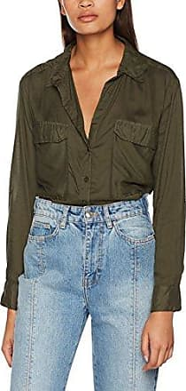Tally Weijl SWSPELUNA3, Blusa para Mujer, Verde (Seal Hf), M