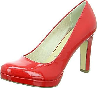 Minitoo , Damen Pumps, rot - Red-7.5cm Heel - Größe: 40