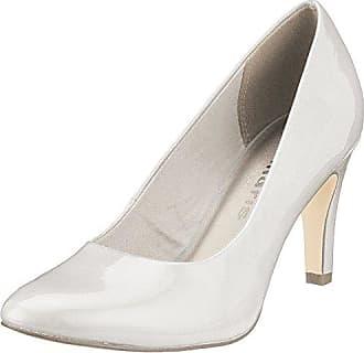 24490, Escarpins Femme, Blanc (White 100), 41 EUTamaris