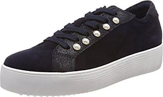25295, Sneakers Hautes Femme, Bleu (Navy 805), 42 EUTamaris