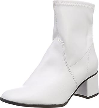 Tamaris 25328, Botines para Mujer, Blanco (White 100), 39 EU