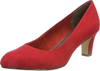 Tamaris Damen 22100 Pumps, Rot (Chili Suede), 40 EU