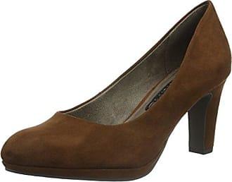 Tamaris 22414, Zapatos de Tacón para Mujer, Marrón (Cognac Struct. 331), 41 EU