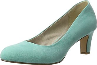 22465, Escarpins Femme, Bleu (Night Blue Pat), 36 EUTamaris