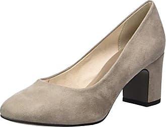 24478, Zapatos de Tacón para Mujer, Beige (Taupe), 37 EU Tamaris
