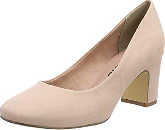 22116, Zapatos de Tacón para Mujer, Rosa (Rose Leather), 39 EU Tamaris