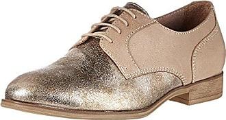 Tamaris 23308, Zapatos de Cordones Derby para Mujer, Negro (Black Brush 025), 40 EU
