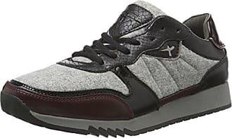 Tamaris 23772, Zapatillas para Mujer, Multicolor (Lt.Olive Comb 791), 40 EU